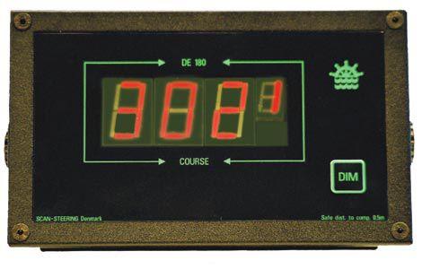 Ship repeater / digital DE180 Scan-Steering