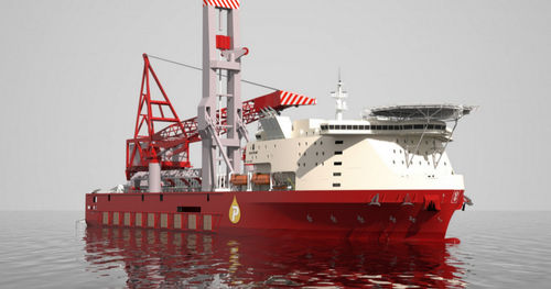 heavy lift offshore support vessel