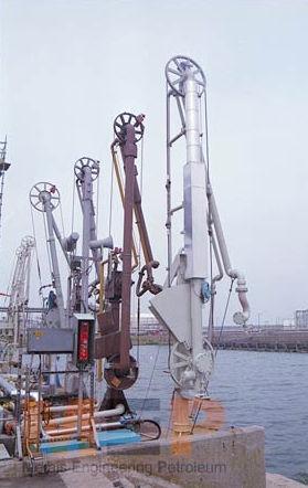 Barge marine loading arm 4''-16'' Metais Engineering Petroleum