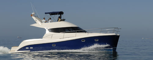 catamaran express cruiser / diesel / flybridge / trawler