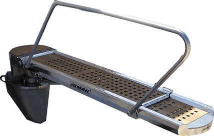 Boat gangways / rotary / telescopic / hydraulic GTL 42 / 270 D Almar