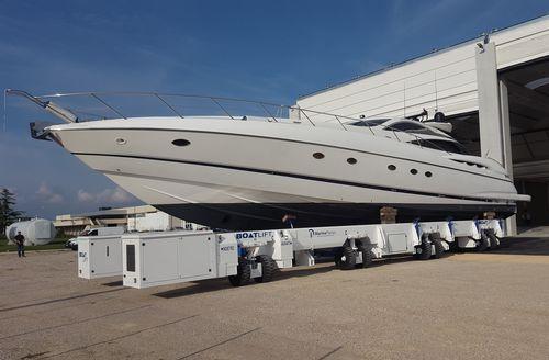 handling trailer / launching / for boats / shipyard