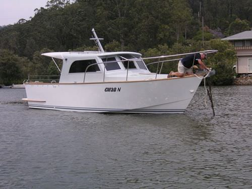 inboard cabin cruiser / hard-top