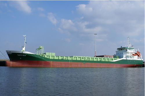 mini-bulker cargo ship