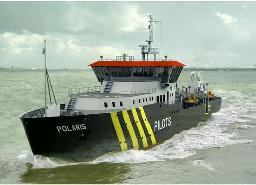 Pilot Station Vessel (PSV) vessel mv. Polaris Barkmeijer Stroobos BV