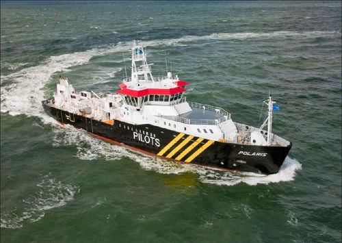 Platform supply vessel (PSV) offshore support vessel mv. Polaris Barkmeijer Stroobos BV