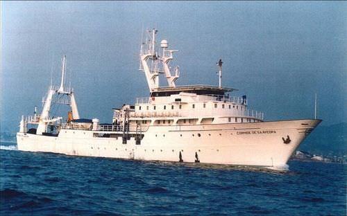 Fisheries research ship CORNIDE DE SAAVEDRA Construcciones Navales P. Freire