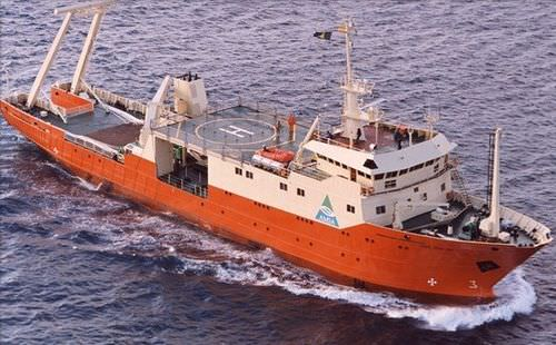Oceanographic research ship 1.150 DWT | CAP GRAFTON Factorias Juliana, S.A.U.