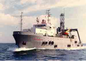 dive support vessel offshore support vessel