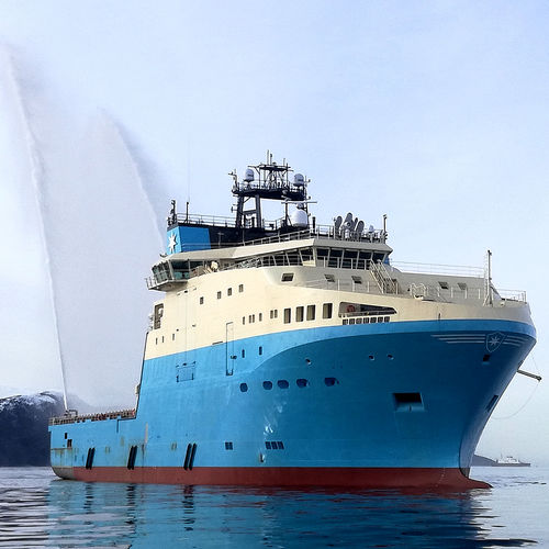 supply offshore support vessel / ice-class