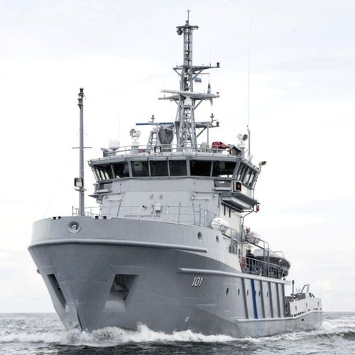 offshore patrol special vessel / ice-class