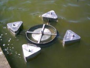 weir oil skimmer / river