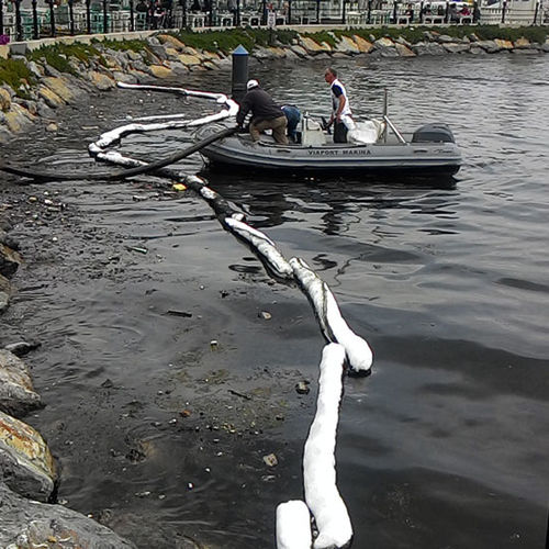 pollution control boom / absorbent