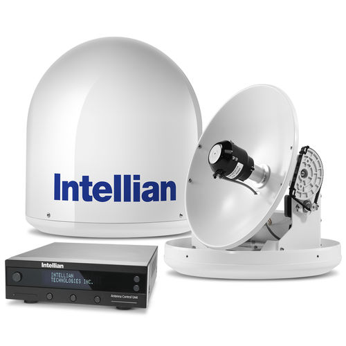 TV antenna / satellite / radome / for boats I2 Intellian Technologies