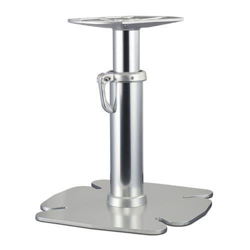 adjustable boat table pedestal / pneumatic / aluminum