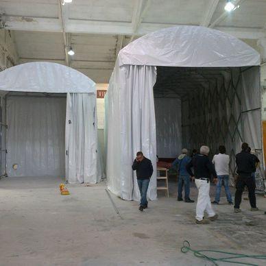 repair temporary workshop