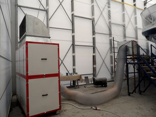 Mobile dust extractor / shipyard AT001KIT Yachtgarage