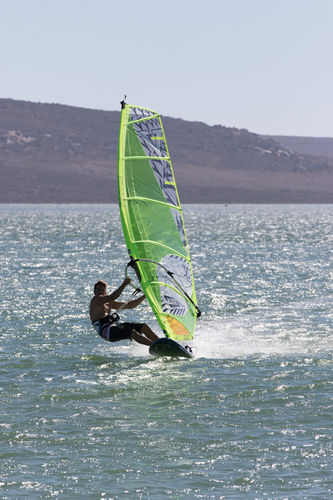 freeride windsurf sail / freerace / 6-batten