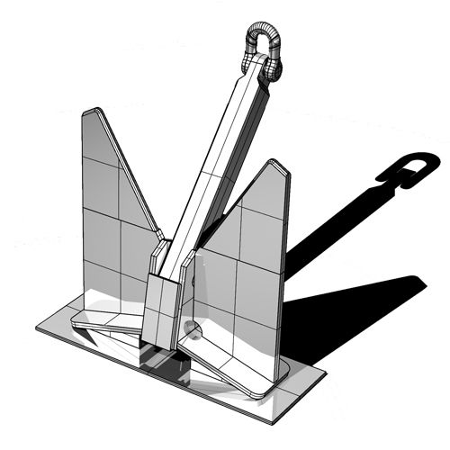 HHP anchor / for yachts