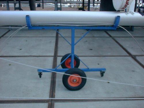 handling trolley / mast