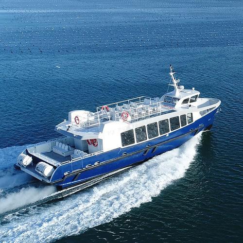 passenger boat / inboard / aluminum