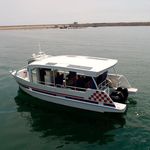 passenger boat / outboard / aluminum