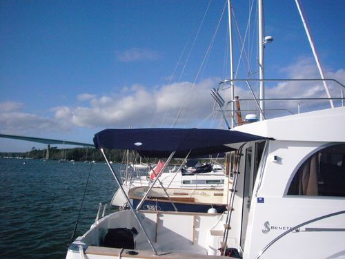 Power boat awning   T-Top S.A.S. - Style in Boat
