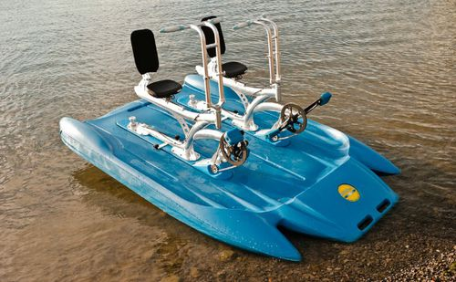 two-seater water bike