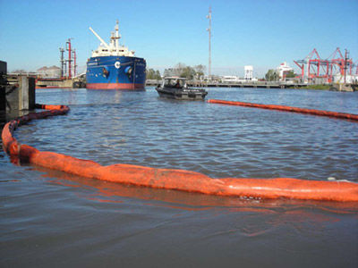 Pollution-control boom / inflatable / floating / sheltered waters Cintra