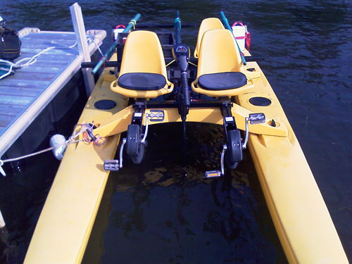 4-place pedal boat / electric drive LIMO Seacycle-canada.com