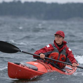 rigid kayak / long-distance touring / entry-level / sea