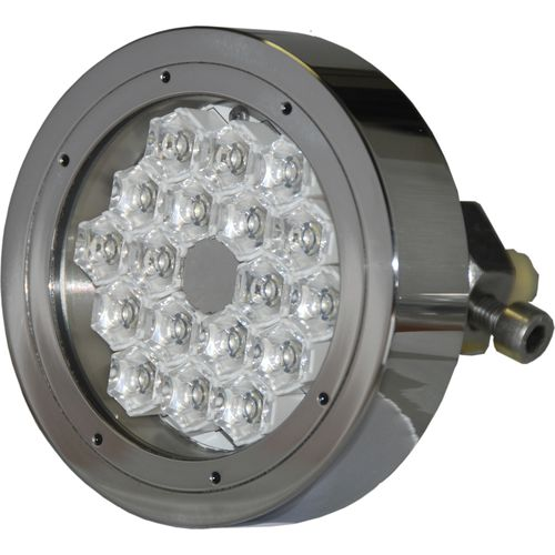 Underwater yacht light / LED / through-hull / multi-color CONVEX MTH18240S ASTEL d.o.o.