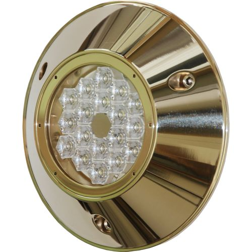 Underwater boat light / LED / surface-mount / bronze CONVEX MSR18240 ASTEL d.o.o.
