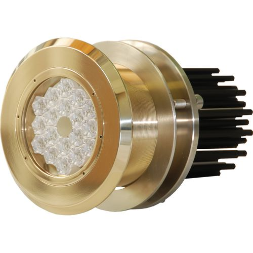 Underwater boat light / LED / through-hull / bronze PLAQUE MFM18240 ASTEL d.o.o.