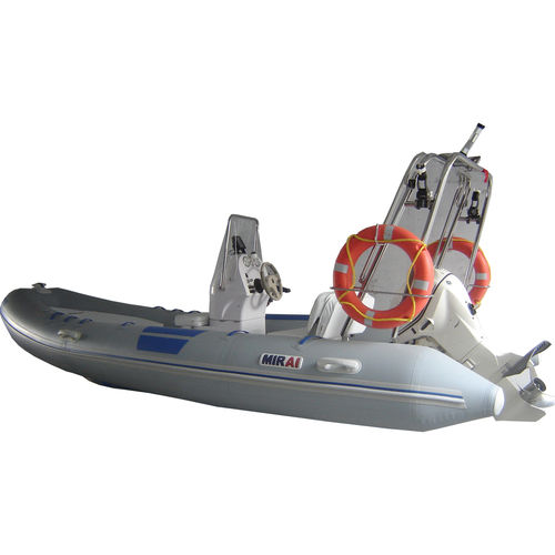 outboard inflatable boat / RIB / center console / fiberglass