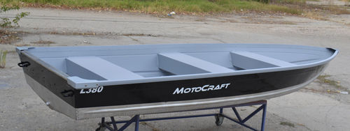 outboard small boat / sport-fishing / aluminum