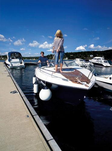 boat fender / dock / spherical / foam-filled