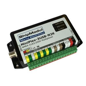 NMEA multiplexer / for ships / for boats