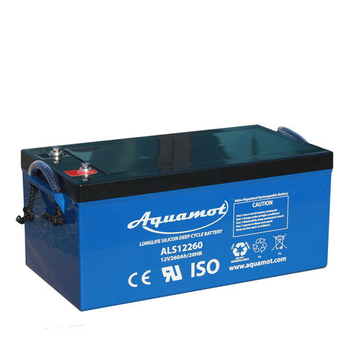 12V deep-cycle battery ALS12260 Aquamot