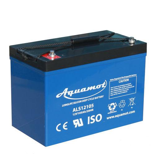 12V deep-cycle battery ALS12105 Aquamot