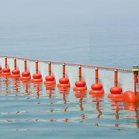 pollution control boom / permanent / floating / intertidal