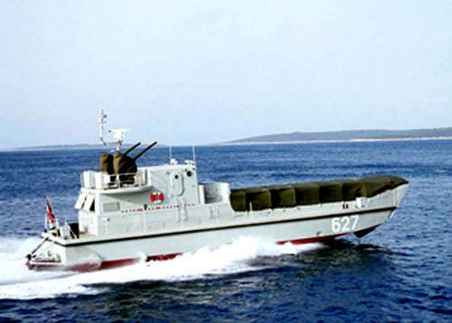 landing craft / inboard waterjet / diesel