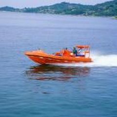 Inboard waterjet rescue boat / outboard / rigid hull inflatable boat RB 7I Montmontaza Greben