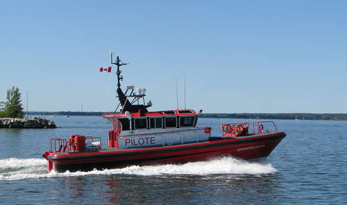 Inboard pilot boat Hike Metal Products