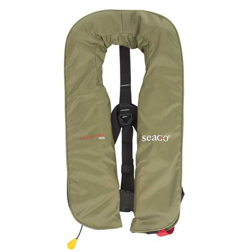 self-inflating life jacket / for fishing