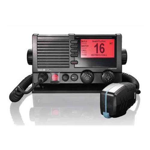 boat radio / fixed / VHF / IPX6