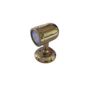 reading light / for boats / wall-mount / brass