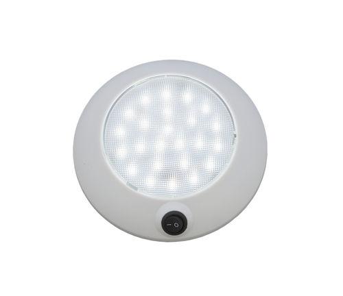 courtesy spotlight / for boats / LED / built-in