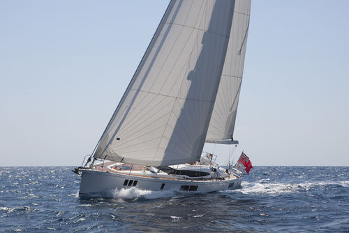 cruising sailing yacht / deck saloon / center cockpit / with 3 or 4 cabins