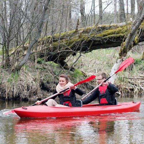 rigid kayak / touring / two-seater
